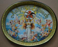 Anheuser-busch Brewing Assn St. Louis Beer Tray Angels 15and039and039 X 12and039and039