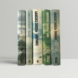 Lawrence Durrell Andndash The Avignon Quintet Andndash Signed First Uk Editions 1974-1985 1st