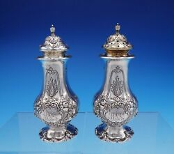 Francis I By Reed And Barton Sterling Silver Salt And Pepper Set 570a 3366