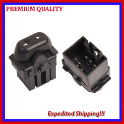 1pc Ws707-as Single Button Passsenger Window Switch For 04-08 Ford F150 5l1z1