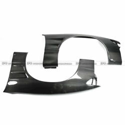 Bn Style Carbon Fiber Front Wide Fender Mudguard +25mm For Nissan Ps13 Silvia