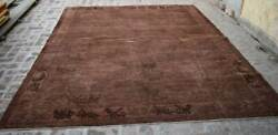 8and0392 X 9and03911 Ft Handmade Afghan Tribal Best Oushak Overdyed Wool Persian Area Rug
