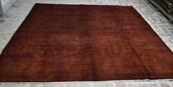 8and0393 X 9and0394 Rare Handmade Afghan Tribal Best Oushak Overdyed Wool Persian Area Rug