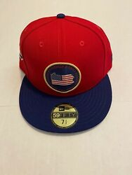 Pittsburgh Pirates New Era 59fifty State Mlb Red Fitted Hat Size 7 1/2 2019
