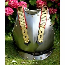 Medieval Cuirass Of French Cuirassiers Knight Breast-plate Larping Costume