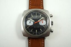 Breitling 2211 Top Time Chronograph S/s Original Dial Dates 1970and039s