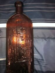 Two Antique Kidney And Liver Cure Bottles