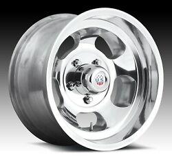 Cpp Us Mags U101 Indy Wheels 15x7 + 15x8 Fits Ford F100 Pickup 1948-1979 2wd