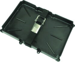 Battery Tray With Hold Down Strap And Stainless Buckle For 24 Series Batteries