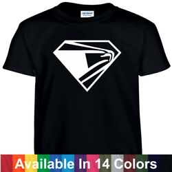 USPS Superman Style T Shirt Tee Post Office T shirt Super Postal Worker $9.99