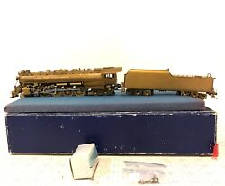 Nj Custom Ho Scale Brass Reading Class T-1 4-8-4 Steam Locomotive And Tender Dcc