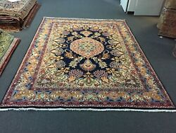 On Sale Decorative Hand Knotted Vintage Floral Elegant Area Rug 8and0395x11and0392931