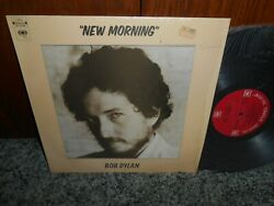 Bob Dylan New Morning Rare 3 Eye Cbs Stereo Label Diff Cover Shrink Malaysia Lp