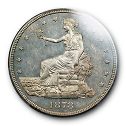 1878 S T1 Trade Dollar Pcgs Ms 61 Uncirculated Looks Proof Like Pl
