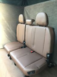 2020 2019 2018 2017 Sienna Limited Touring 3rd Row Seat Brown Leather Power Fold