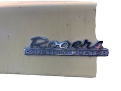 Rogers Dash Emblem From Jet Boat