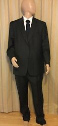 Nwt Hart Shaffner Marx Gold Trompeter Mens Suit 46r D3