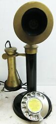 Western Electric Candlestick Rotary Dial Telephone Circa 1915