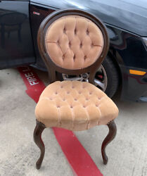 Vintage Pelham Shell And Leckie Victorian Style Chair