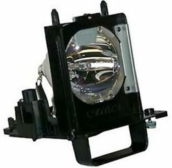 Replacement Lamp And Housing For Mitsubishi Wd-73642 Tv Assembly Cage Projector