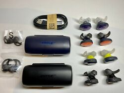 Bose Soundsport Free Wireless Headphones Replacement Earbuds/charging Case Color