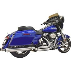 Bassani Stainless Steel True-dual Exhaust System Harley M8 Touring 17-20