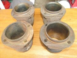 4 Vw Type 1 Cylinders - 77mm Bore - 1200cc - Pn 111.101.311