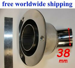 Stainless Steel Thru Hull Outlet / Exhaust Fitting 38 Mm To Webasto Eberspacher