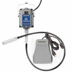 Foredom Flex Shaft Sr-sct Hang-up Motor With Sct Metal Pedal Speed Control 115v