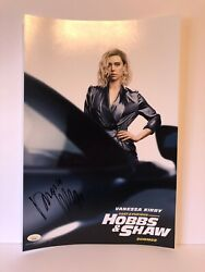 Autographed Vanessa Kirby Signed 12x18 Photo Hobbs And Shaw Poster Jsa Cert
