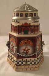 Budweiser Collectors Club 1999 Clydesdale Stable Lidded Stein Cb11 No Coa No Box