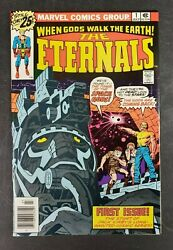 Eternals 1 2 Marvel 1976 Signed By Jack Kirby High Grade Mcu Lot Of 2