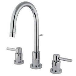 Kingston Brass Ks8951dl Concord Two Handle Mini Widespread Lavatory Faucet With