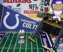 Nfl Teenymates 2019 Gold Box Exclusive Indianapolis Colts Qb Andrew Luck Figure