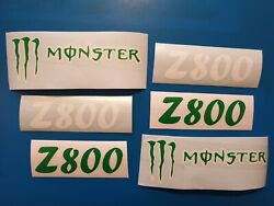 Kawasaki Z800 Graphics Decals Stickers Monster Energy Fast Dispatch Quality