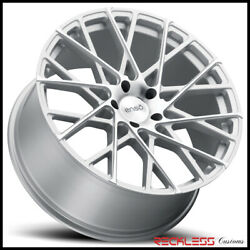 Enso 22 M1 Silver Concave Wheels Rims Fits Bentley Continental Gt