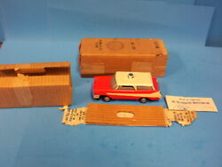 Lionel O Gauge Powered 68 Inspection Car W/ob And Inserts Never Run