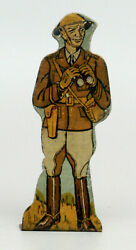Marx Soldiers Of Fortune Tin Litho Target - General