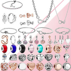 Mother's Day 925 Sterling Silver Girl Teenager Charm Mom Letters Bead W4pandora