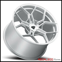 Blaque Diamond 20 Bd-f25 Silver Concave Wheel Rims Fits Honda Accord Sedan