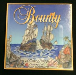 Bounty Board Game Extremely Rare Oop 1988 New In Box Sealed Pirates Ships