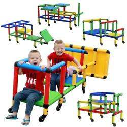 Life Size Structures Wheelies Building Construction Toy Play Set Playset Kids