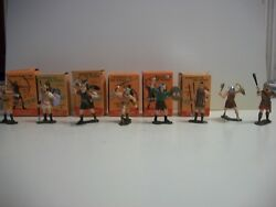 Marx Warriors Of The World Vikings Set Of 8 [6 W/ Boxes And Cards]