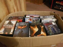 Lot Of 185 New And Used Assorted Dvd Movies - Titles And Condition In Description