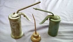 Vintage Oil Cans - Lot Of 3