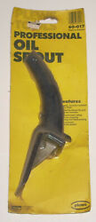 New Nos Vintage Plews Tools Professional Oil Spout Made In Usa For Oil Can