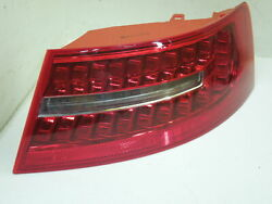 Audi A6 C6 Fl Saloon Os Right Rear Wing Led Tail Light Cluster New 446-1915r