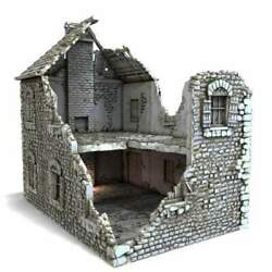 French Farmhouse Ruins - Time Warp Wargaming Terrain Scatter Dandd Dnd