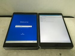 Lot Of 8 Asus Zenpad Z10 Tablet-p00i Wi-fi - For Parts/as Is-cracked Digitizer