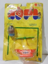 Vintage Weeble Wobble Helicopter Includes 1 Dolls Sealed 1977 Rare Top Toys